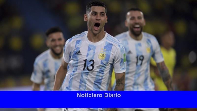 Cristian Romero sufre una tensión y puede estar en la Copa América