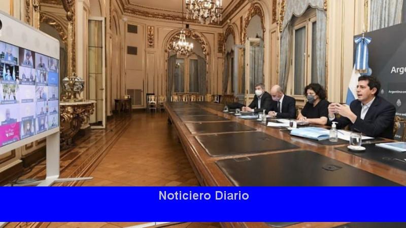 De Pedro y Vizzotti se reunieron con los gobernadores y Larreta para analizar el plan de vacunación