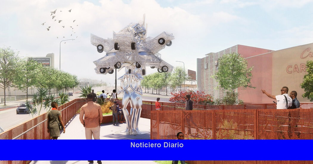 Destination Crenshaw avanza con una primera ronda de esculturas públicas
