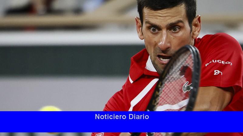 Djokovic sufrió pero avanzó a los cuartos de final de Roland Garros