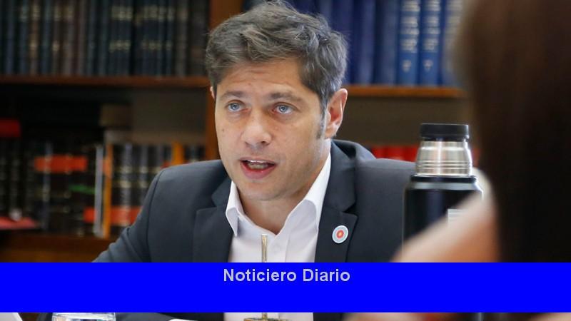 Kicillof dijo estar 'optimista' con la recuperación económica en la pospandémica.
