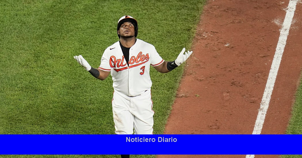 La ofensiva de los Orioles se mantiene caliente en la explosión de los Mets