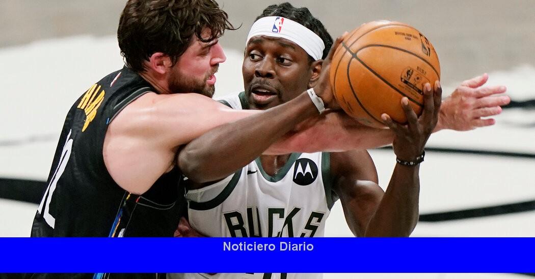 Los Nets dejan a un lado a los Bucks para liderar la serie, 2-0