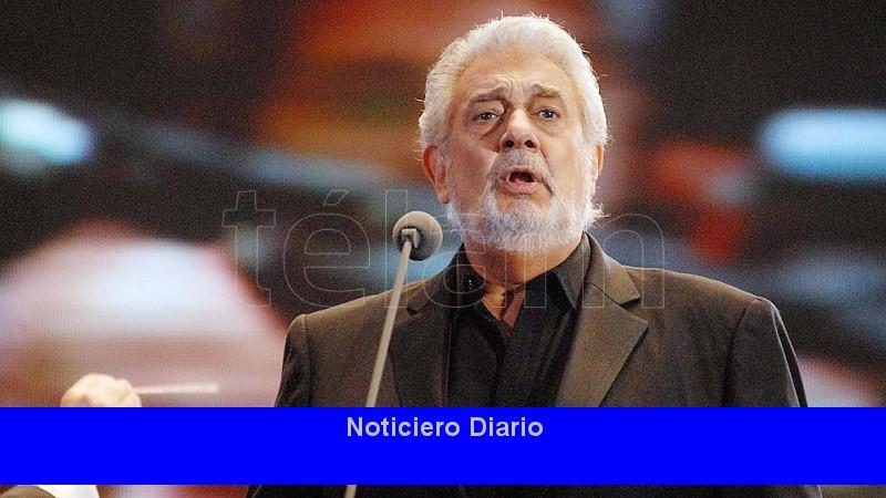 Plácido Domingo es aplaudido en su primera presentación, tras denuncias de abuso