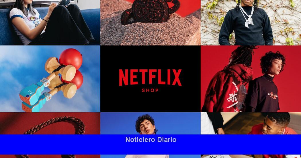 Tienda online de Netflix para vender productos vinculados a programas como 'Lupin'