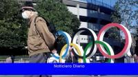 A un mes de los Juegos Olímpicos de Tokio 2020, con la correa de la barbilla como insignia