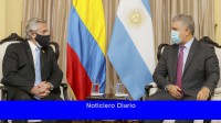 Alberto Fernández invitó a Iván Duque Márquez a visitar Argentina