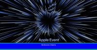 Apple anuncia un evento por sorpresa el próximo lunes 18 de octubre, ¿tenemos nuevos MacBook Pros a la vista?