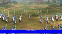 Aquí hay una partida multijugador completa de Age of Empires 4