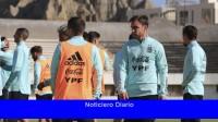 Argentina ensaya variantes defensivas pensando en Colombia
