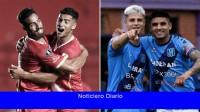 Argentinos Juniors y San Telmo, con público, se enfrentan por los cuartos de final