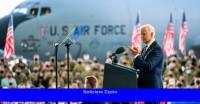Biden aboga por la democracia y la diplomacia al iniciar su viaje por Europa