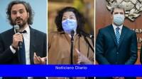 Cafiero, Vizzotti y Uñac inauguran un hospital en la provincia de San Juan