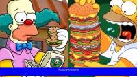 ¿Cómo preparar la hamburguesa que obstruye las arterias de Los Simpson?
