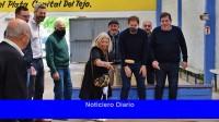 Diego Santilli pidió 'cuidar las urnas' en un recorrido por la costa atlántica con Carrió