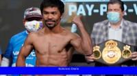 El boxeador Manny Pacquiao será candidato presidencial de Filipinas