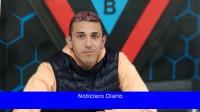 El centrocampista Alexis Castaño, de Brown de Adrogué, se fracturó la clavícula