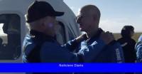 El momento de Star Trek de William Shatner con Jeff Bezos