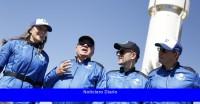 En un cohete Blue Origin, William Shatner finalmente va al espacio