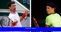Es Nadal contra Djokovic en el Abierto de Francia, pero una ronda antes