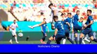 España goleó a una débil Eslovaquia y se metió en octavos de final