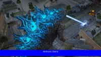 Este nuevo mod de Godzilla de GTA 5 te permite arrasar con el aliento atómico