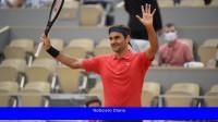 Federer se retiró de los octavos de final de Roland Garros