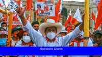 Fernández felicitó a Pedro Castillo por las elecciones presidenciales en Perú