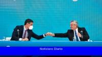 Fernández y Sánchez ratificaron vínculos, apoyos y perspectivas de inversión