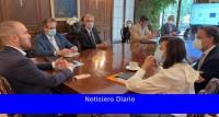 Guzmán inició una semana de reuniones en Washington con el FMI