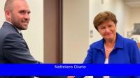 Guzmán se reunió con Kristalina Georgieva y David Lipton
