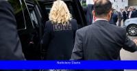 Jill Biden usa chaqueta 'Love' en contraste con la de Melania Trump