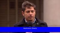 Kicillof: los que 'partidismo' con la pandemia tendrán un 'castigo' electoral