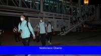 La Selección Argentina llegó a Barranquilla para enfrentar a Colombia