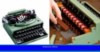 Lego viaja en el tiempo con esta máquina de escribir de coleccionista completamente funcional