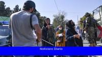 Los talibanes golpearon a periodistas en Kabul durante una protesta de mujeres