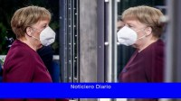 Merkel recibió una segunda dosis de Moderna después de una primera dosis de AstraZeneca.