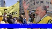 MIJD levantó la protesta en el Obelisco y marchó a la Cámara de la Construcción
