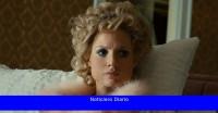 Mira a Jessica Chastain tomar una posición en 'Los ojos de Tammy Faye'