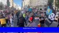 Neonazis realizaron una marcha homofóbica y racista en Chueca, el barrio gay de Madrid