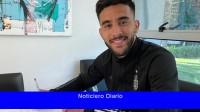 Nicolás González se presentó como nuevo jugador de la Fiorentina