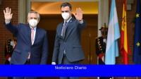 Pedro Sánchez llega a Argentina para reunirse con Alberto Fernández