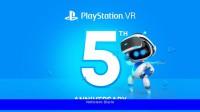 PlayStation regalará 3 juegos de realidad virtual a los usuarios de PS Plus para celebrar el quinto aniversario de la plataforma