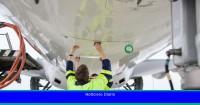 ¿Por qué esta aerolínea alemana utiliza una imitación de piel de tiburón para sus aviones?