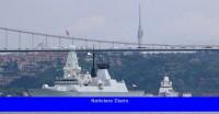 Rusia dice que disparó disparos de advertencia contra un buque de guerra del Reino Unido cerca de Crimea