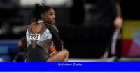 Simone Biles gana el séptimo título récord de gimnasia de EE. UU.