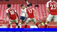 Un gol de Lamela, el mejor de la temporada de la Premier League